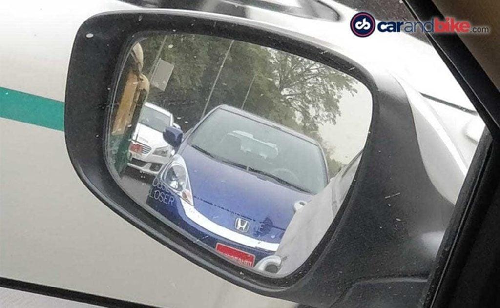 Front fascia of the Honda Jazz EV