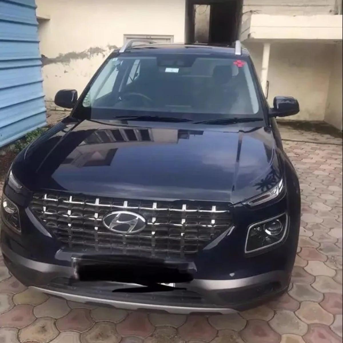 Hyundai Venue Top Model Second Hand At Just Rs 12.20 Lakh