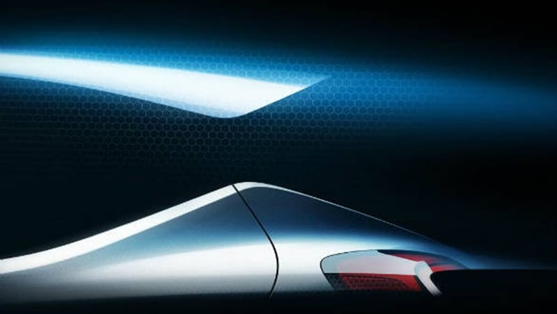 Hyundai releases new teaser for an upcoming car at the Frankfurt Motor Show