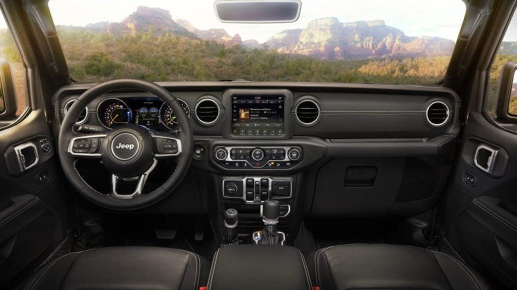 New-gen Jeep Wrangler interiors