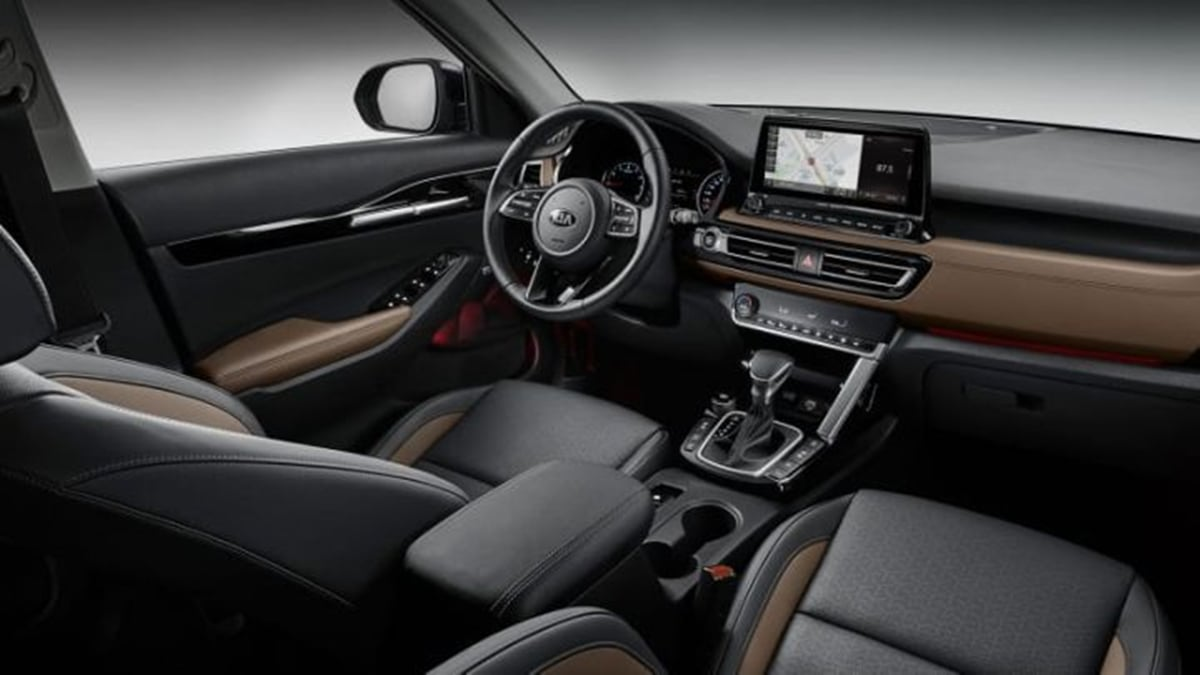 Kia Seltos Interiors Detailed Images Revealed Ahead Of Launch