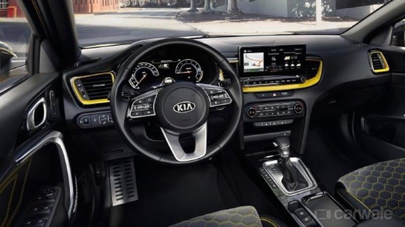 Kia XCeed's interiors