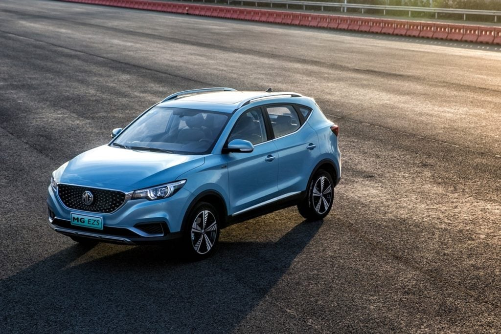 MG eZS coming to India at the end of this year