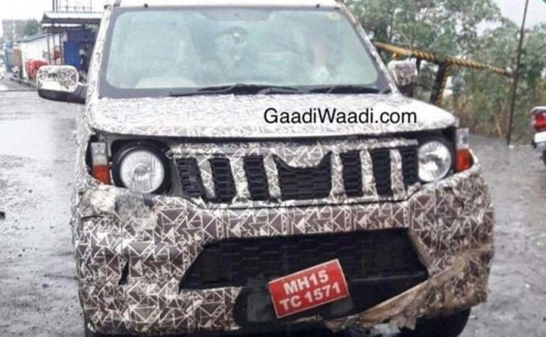 2020 Mahindra TUV300 Spotted Testing; Gets Refreshed Styling!