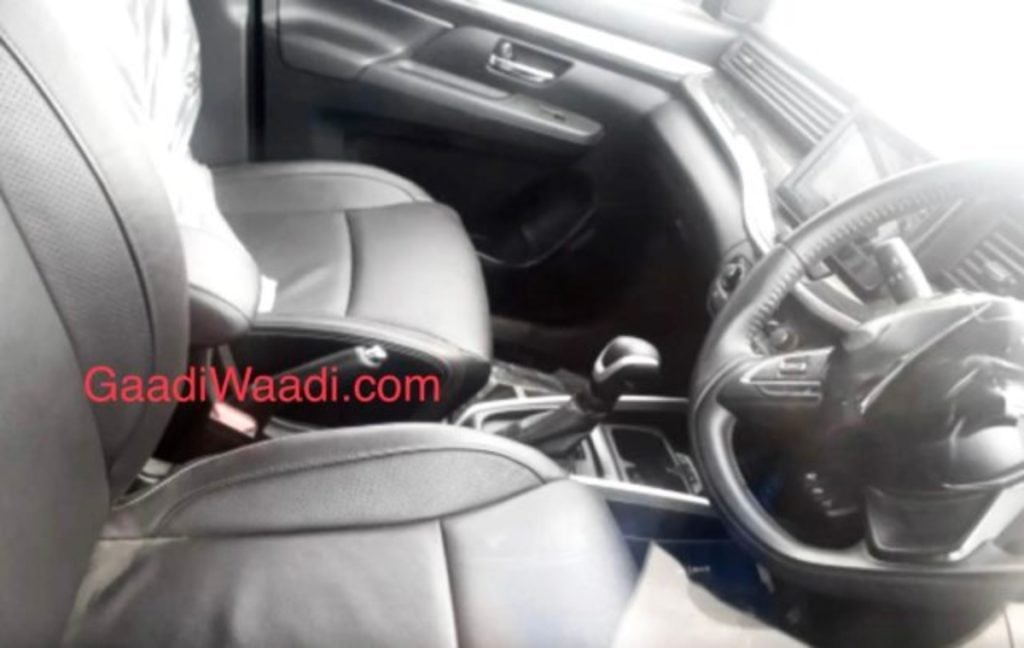 Maruti XL6 Ertiga Cross interiors image