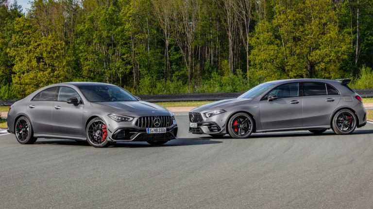 Mercedes-AMG A 45 and CLA 45 Debuted at Goodwood Festival of Speed