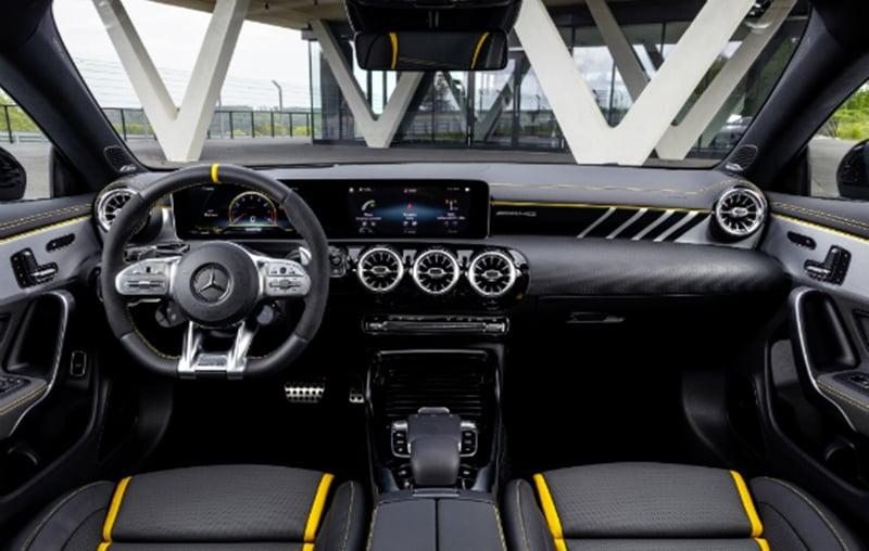 new Mercedes-AMG A 45 interiors