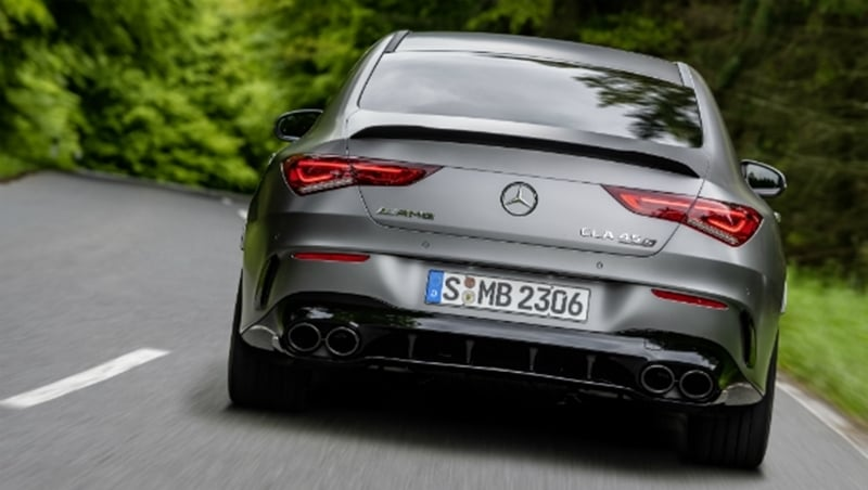 2019 Mercedes-AMG CLA 45 S