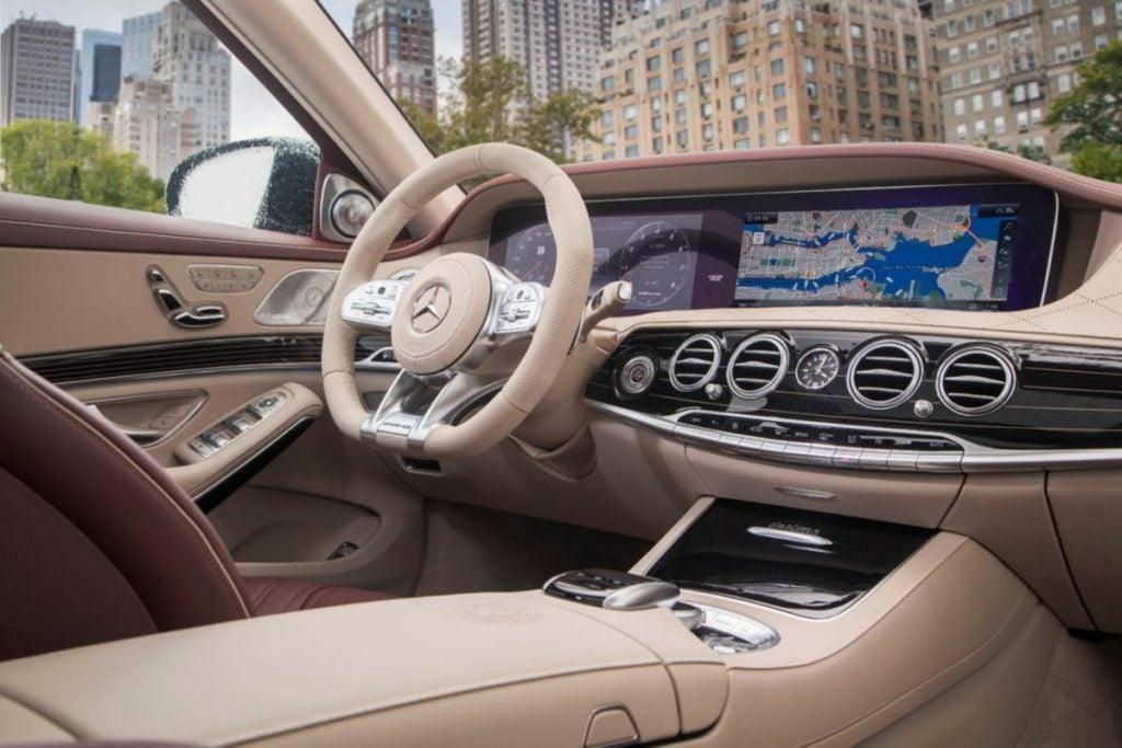Mercedes Benz S Class Interiors