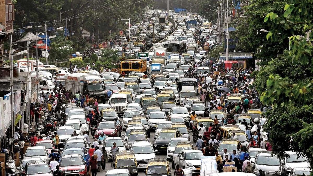 Image result for mumbai traffic