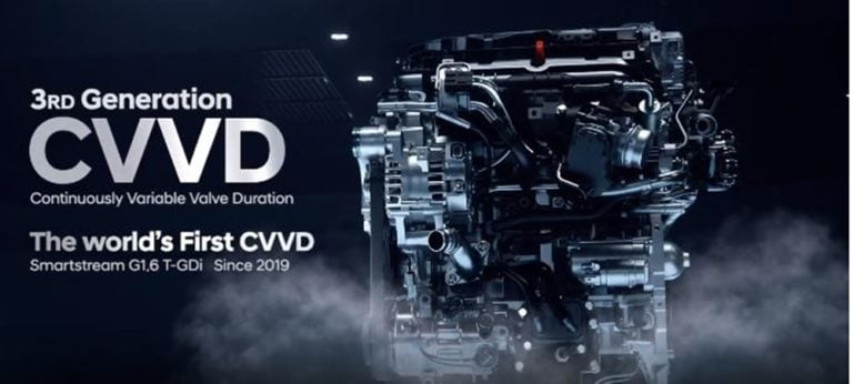 Hyundai Unveils World's First CVVD Tech in Their Smartstream G1.6 T-GDi Engine