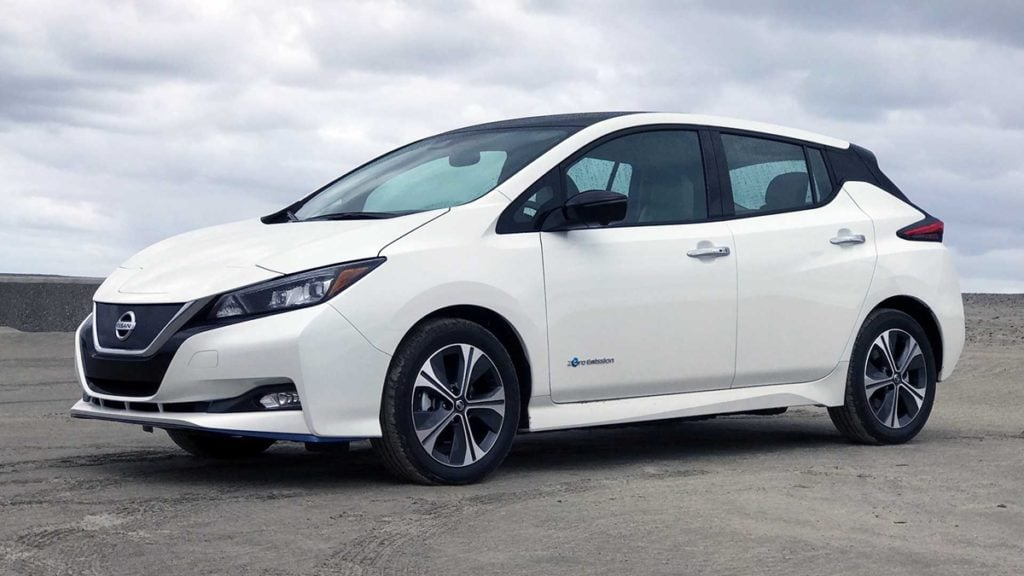 Nissan Leaf, one of the pioneers in EV technology