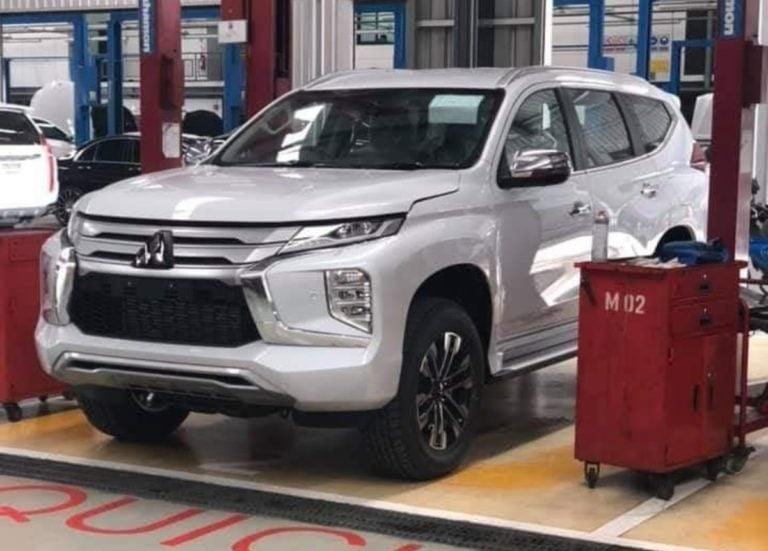 Mitsubishi Pajero Sport Facelift Spied – Might Launch In India