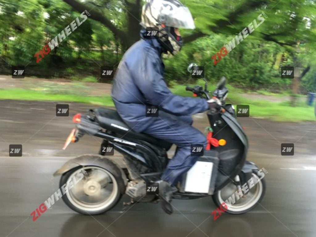 Peugeot E-Ludix electric scooter spotted testing in India