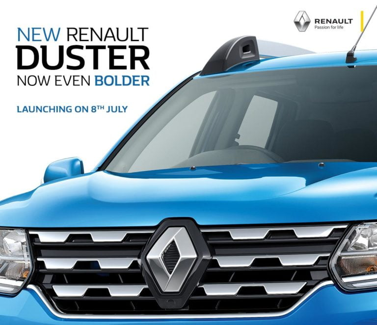Renault Duster Facelift Launch On 8th July – What's New?