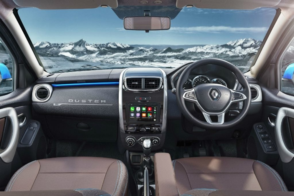 The new Renault Duster has a much more premium cabin than before