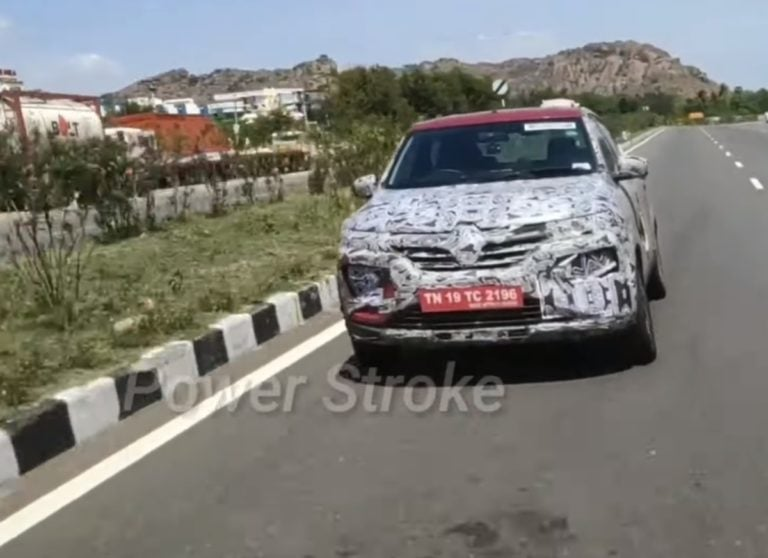 Renault Kwid Facelift With BS6 Spotted – Launch likely by late 2019
