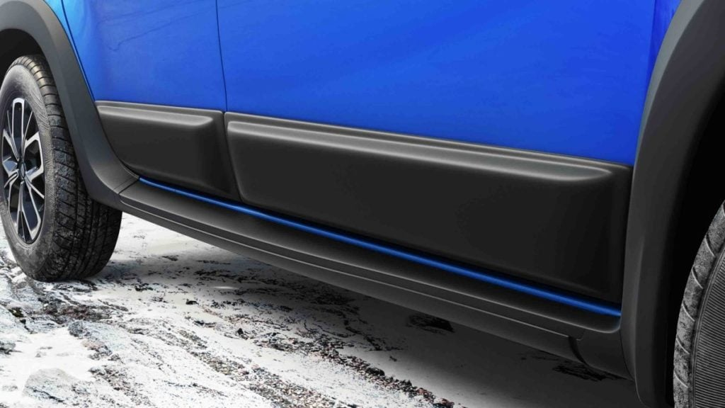 Renault Duster Accessories - Side Body Claddings