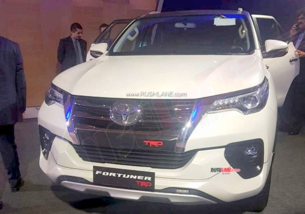 Toyota Fortuner To Finally Get Trd Sportivo Kit Launch In Sept 2019
