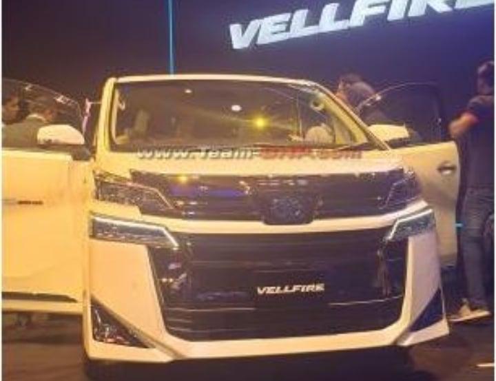 Toyota Velfire India