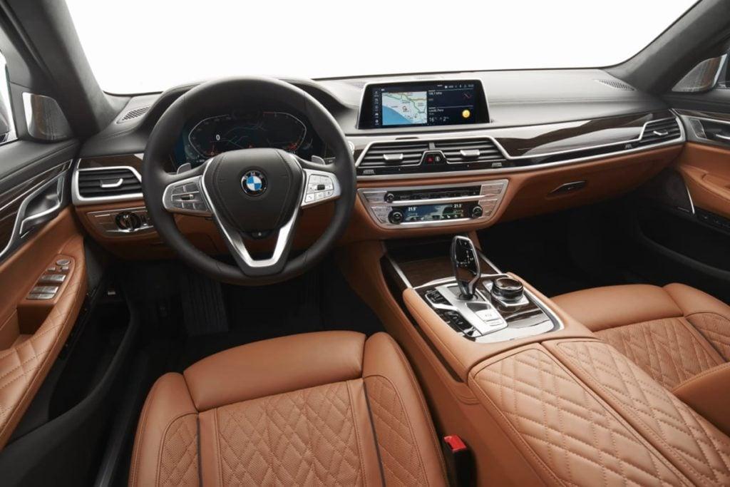 BMW 7 Series interiors
