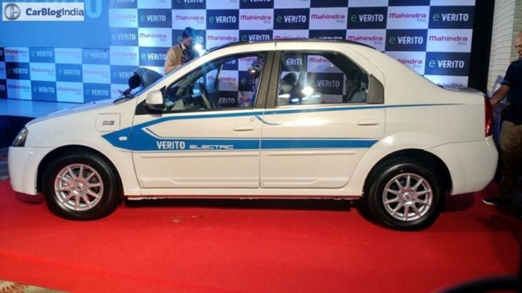 Mahindra eVerito - one of the first electric vehicles in India