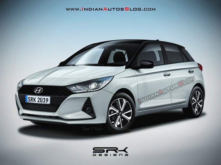 2020 Hyundai Elite i20 Rendered Based On New Spy Shots!