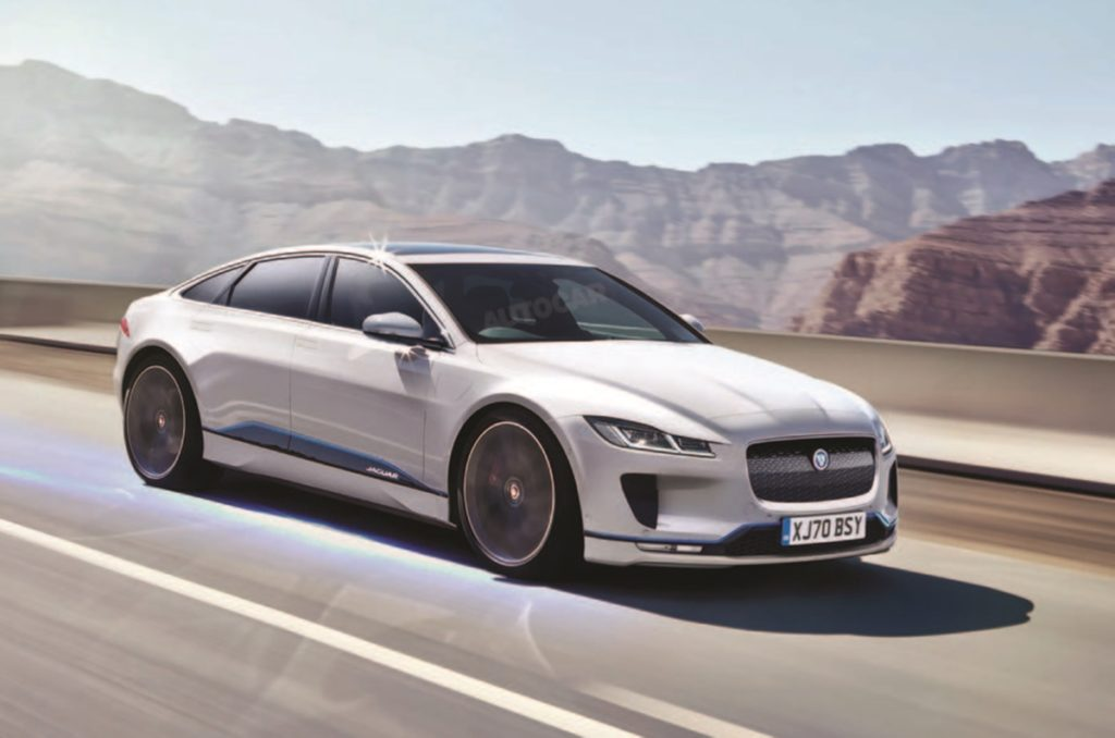 Next-gen Jaguar XJ will be fully electric, among many other fully electric cars from JLR