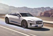 Jaguar electric XJ rendering