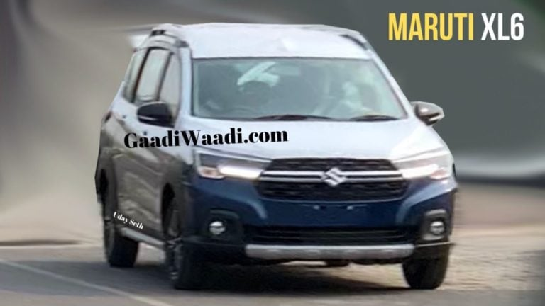 Maruti Suzuki XL6 (Ertiga Cross) Spied Testing; To Be Priced More Than Ertiga!