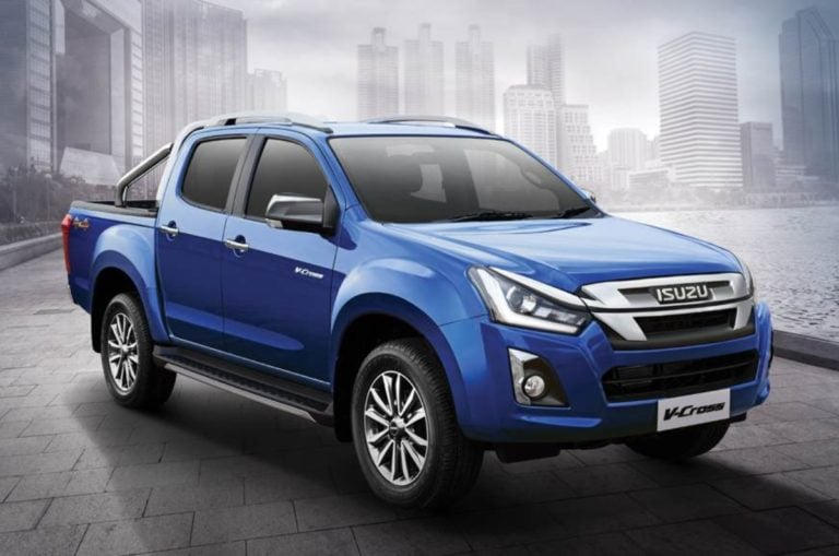 2019 Isuzu D-MaX V-Cross Automatic Launched At Rs 19.99 Lakh