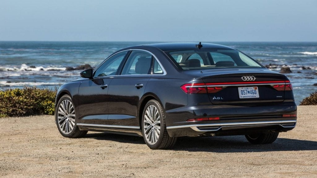 The new Audi A8 comes with understated but still a bold styling