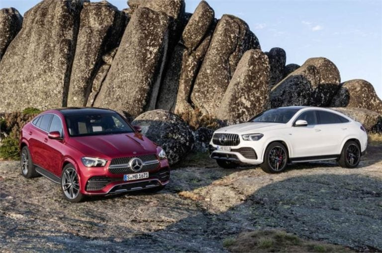 2020 Mercedes GLE Coupe Unveiled; India Launch Expected Soon
