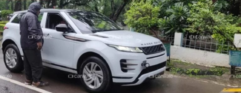 2020 Range Rover Evoque Spied In India – Might Come With A Hybrid System