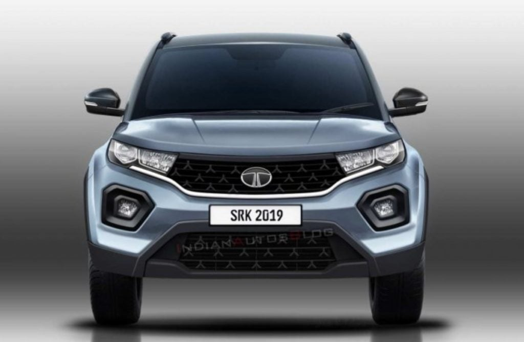 2020 Tata Nexon Rendered Image