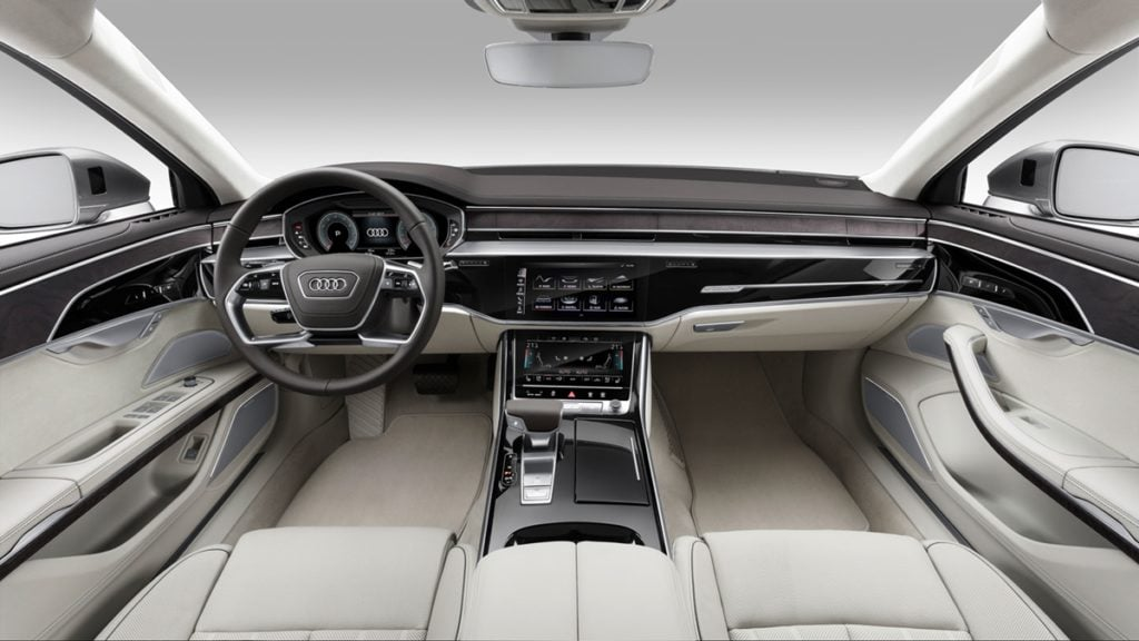 New Audi A8 interiors
