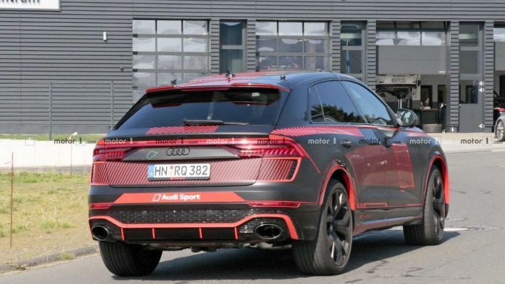 The RS Q8 will debut at the 2019 Frankfurt Motor Show