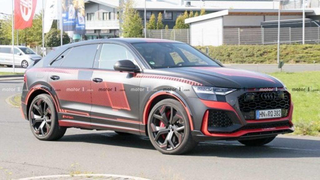 Audi RS Q8 Spied Internationally