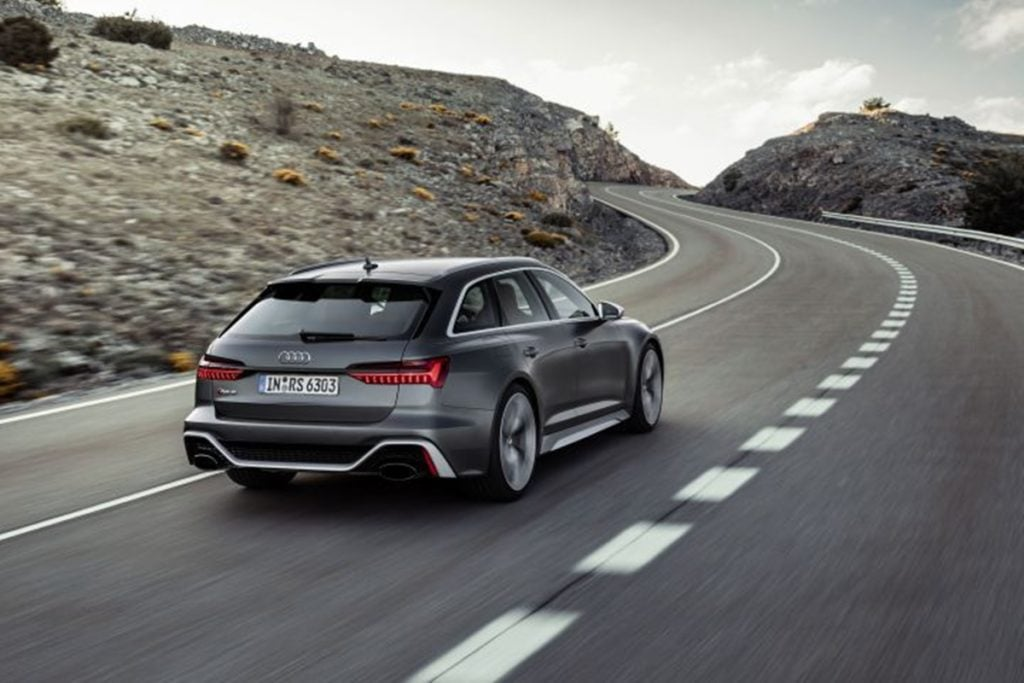 The RS6 Avant gets bold new styling