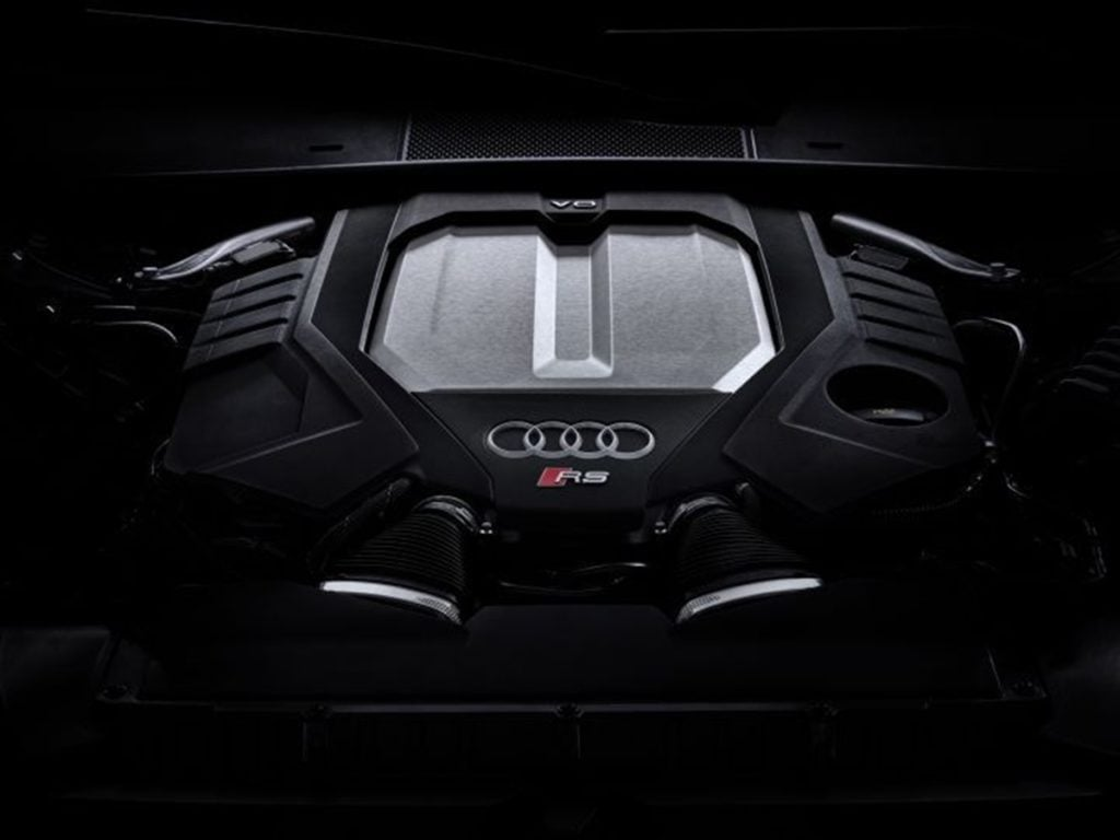 The RS6 Avant is powered by a 4.0-litre twin-turbo V8 TFSI petrol engine