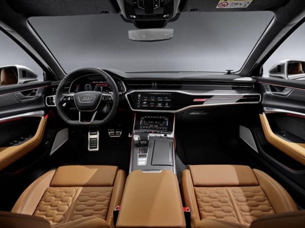 Audi RS6 Avant Interiors