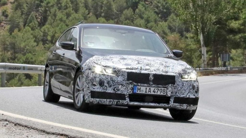 BMW 6-series GT facelift spotted testing internationally