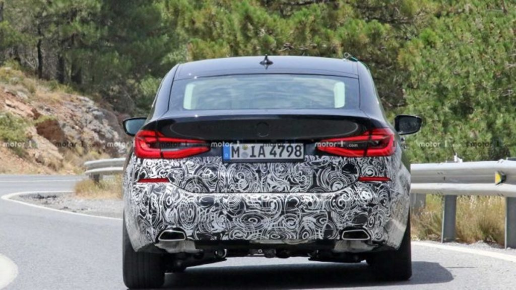 BMW 6-series GT facelift will only feature some minor cosmetic changes