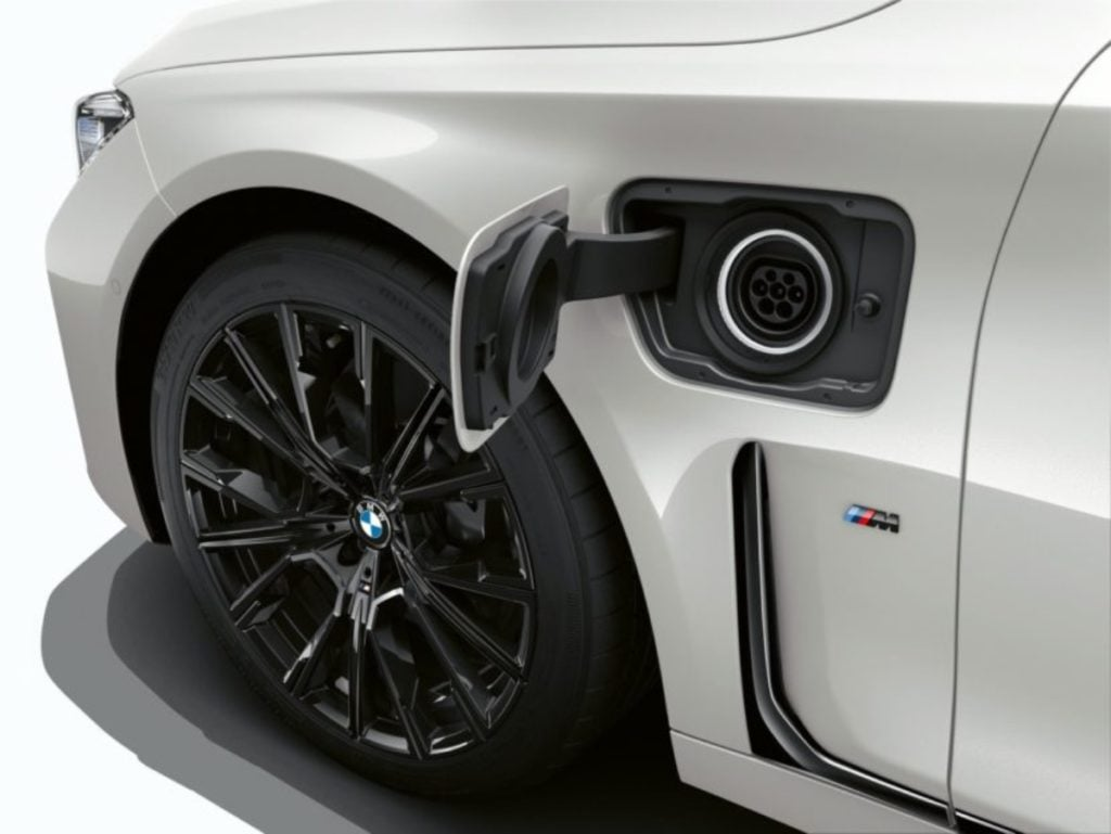 BMW 7 series electric image