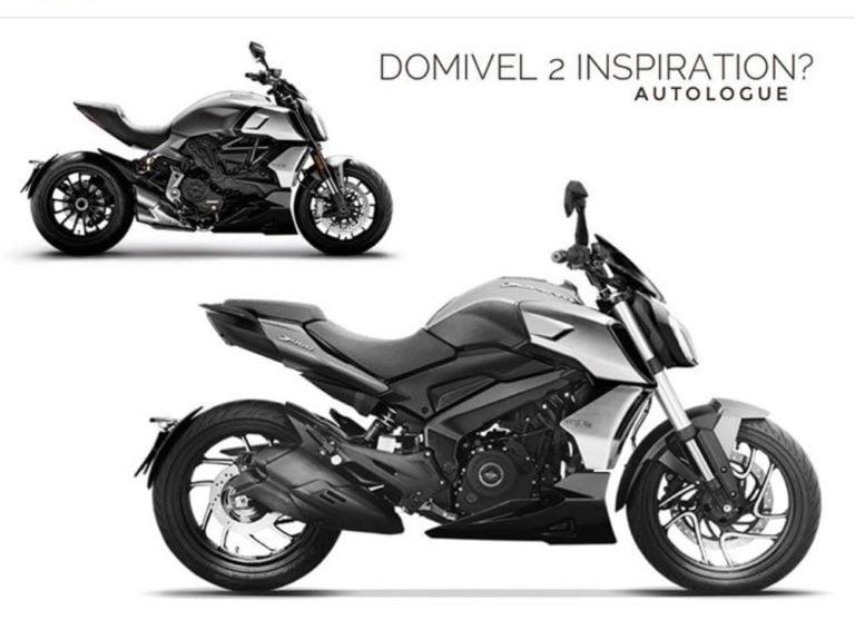 Bajaj Dominar Domivel Rendering Gets Inspiration From Ducati Diavel!