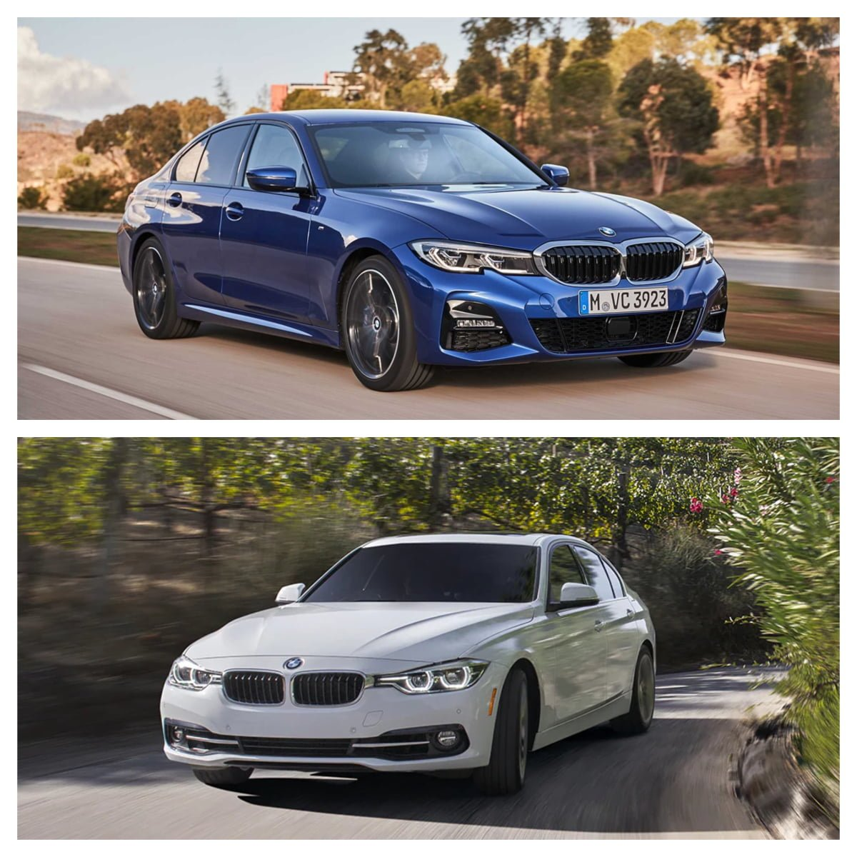 Bmw 3 Series Old Vs New What All Has Changed With The 7th Gen