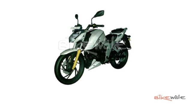 New TVS Apache RTR 200 4V Photos And Features Leaked