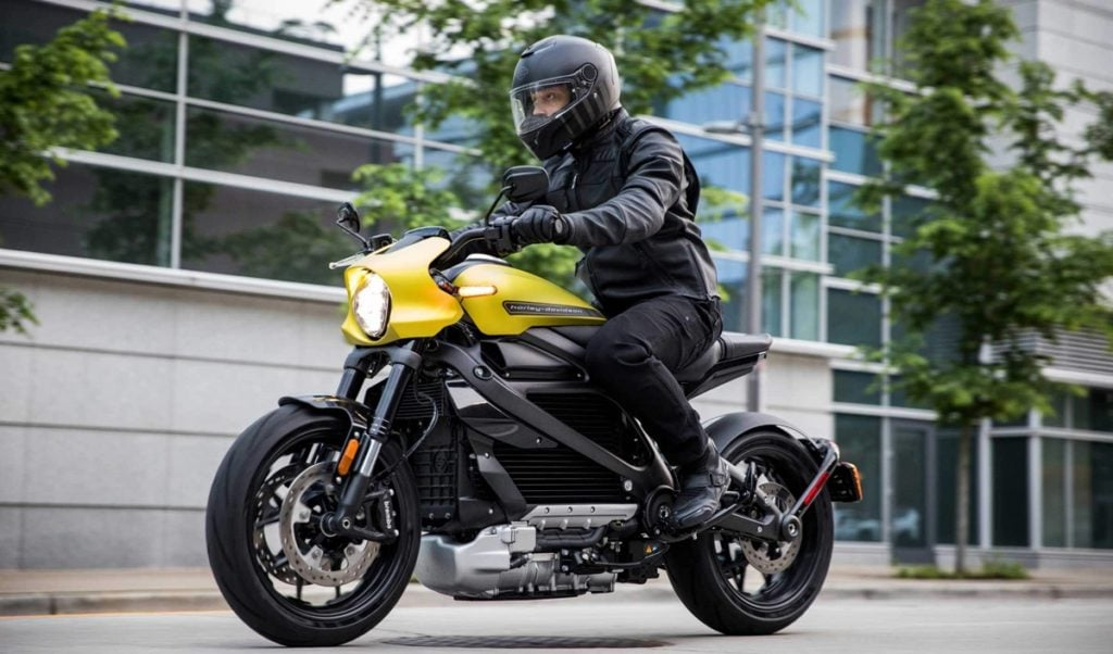 This is the first electric Motorcycle from Harley Davidson