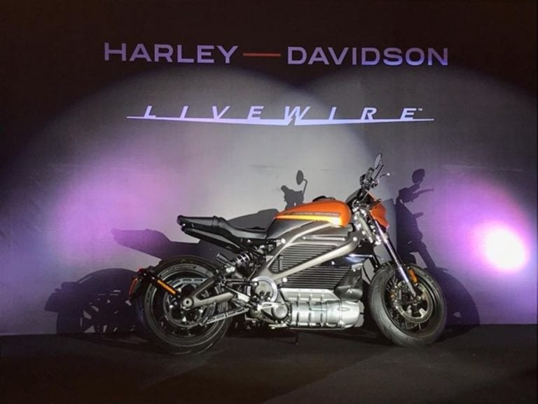 Harley Davidson Livewire Electric Motorcycle Unveiled in India!