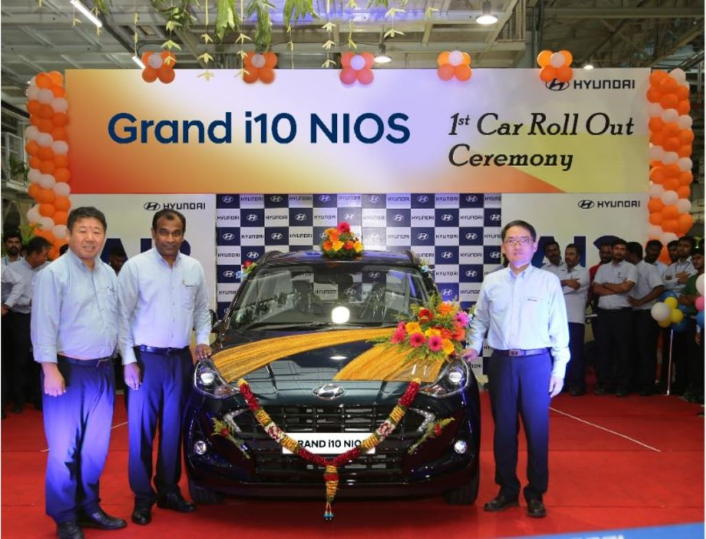 Hyundai Grand i10 Nios production image